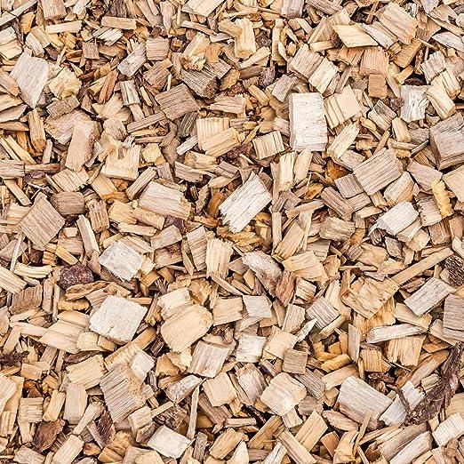 GASPO Hackschnitzel aus Holz 72 Liter Qualit/ät aus /Österreich f/ür Garten und als Tier-Einstreu trocken