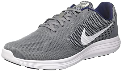 sale retailer b7d29 05d58 Nike Revolution 3 Men's Grey Sports Running Shoe (Uk 6)