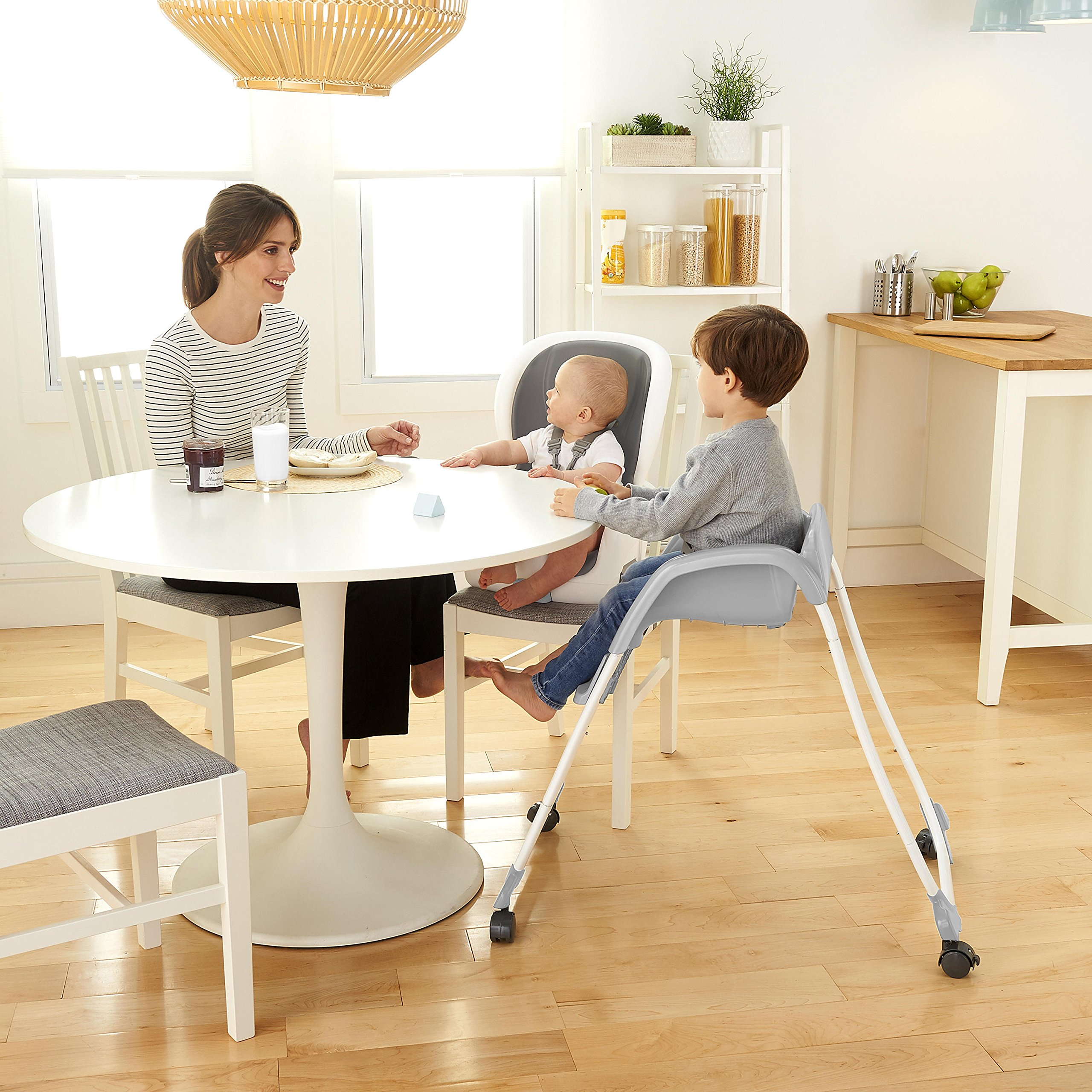 Ingenuity SmartClean Trio Elite 3-in-1 High Chair - Slate - High Chair, Toddler Chair, and Booster by Ingenuity (Image #10)