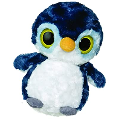 Aurora Plush 8 inches Penguin with sound: Toys & Games [5Bkhe0706622]