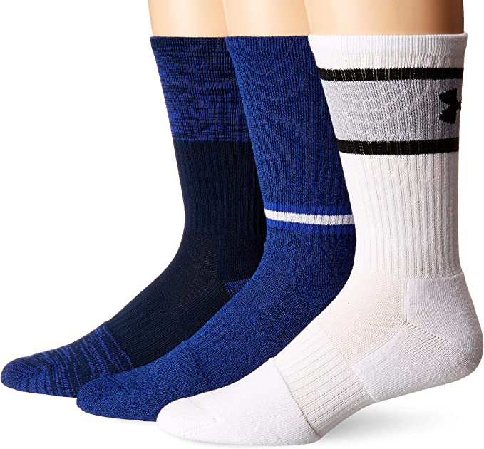 3 Pack Select SZ//Color. Under Armour Socks Boys Phenom Curry Crew