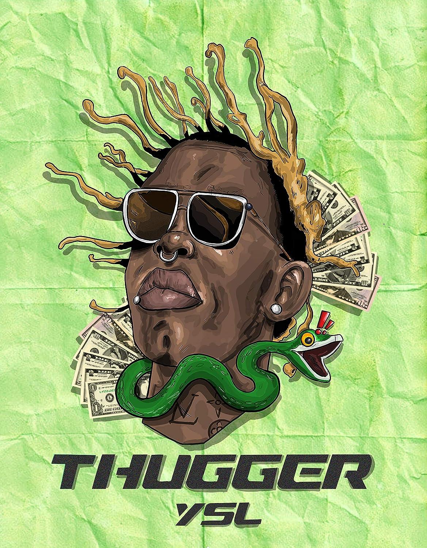 Young Thug Smoking Poster 24 x 36