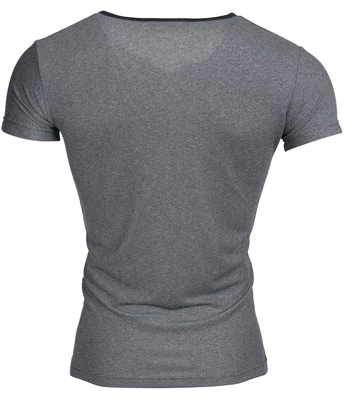 Tazzio Herren T-Shirt Poloshirt Polo Hemd Slim Fit Pullover Kurzarm:  Amazon.de: Bekleidung