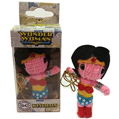 Licenses Products DC Comics Originals Wonder Woman String Doll Keychain: Toys & Games