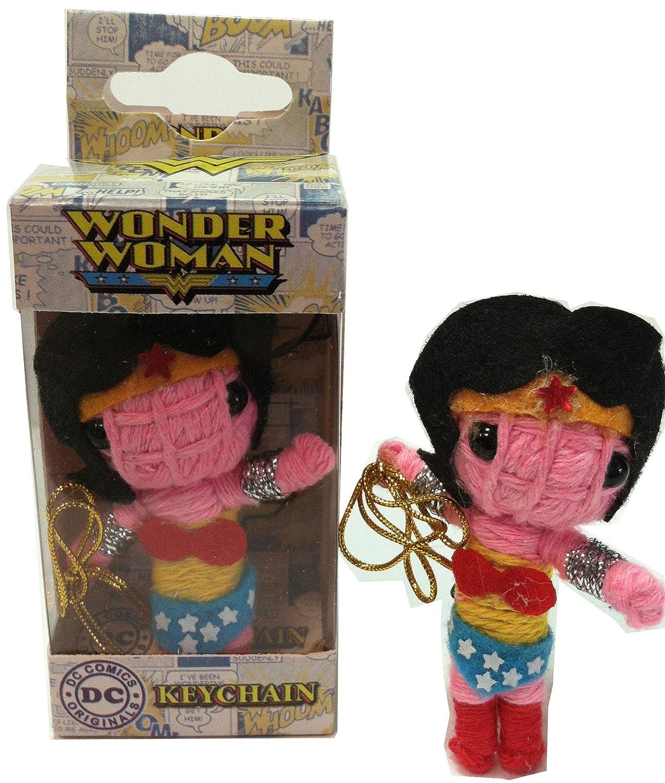 Licenses Products DC Comics Originals Wonder Woman String Doll Keychain C&D Visionary Inc. K-DC-0026-V