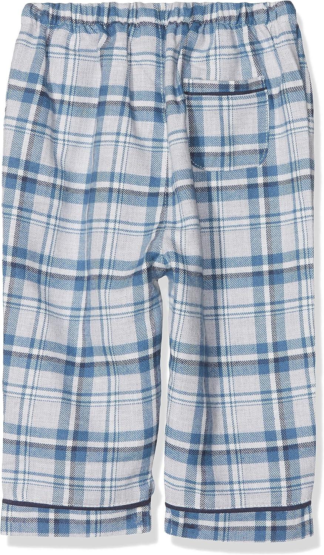 Mamas /& Papas Baby Boys Blue Check Pyjamas Sets