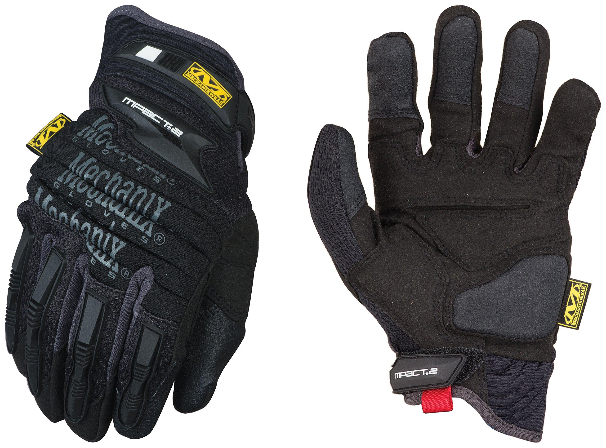 Mechanix Wear - M-Pact 2 Work Gloves (Medium, Black)