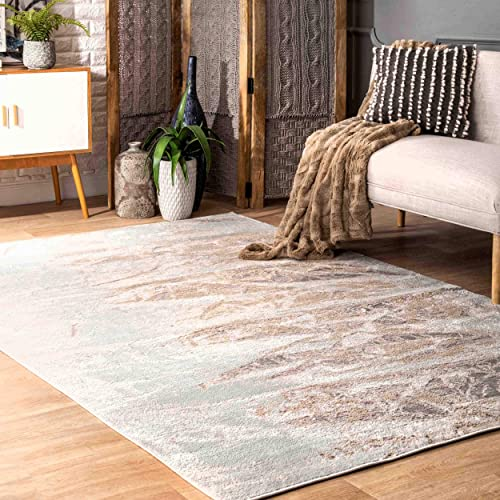 nuLOOM Leora Contemporary Area Rug