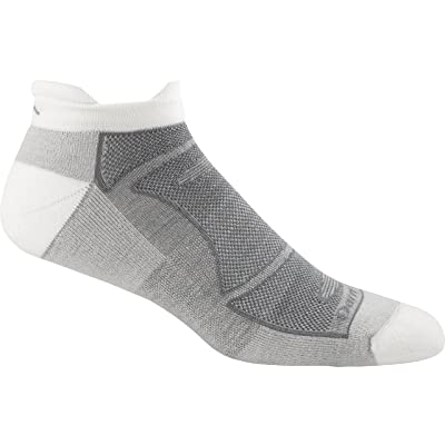 .com : Darn Tough Men's No-Show Light Cushion Athletic Socks, ( Style 1722 ) - 6 Pack White/Gray, X-Large : Sports & Outdoors