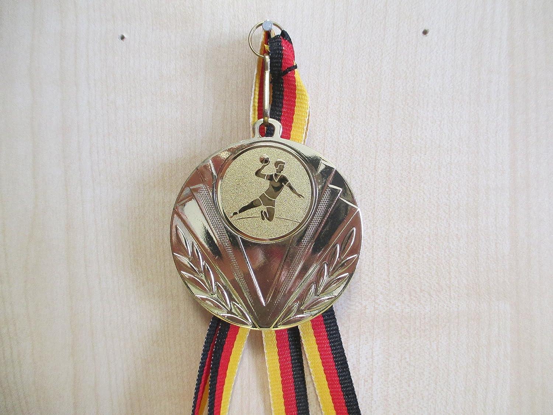 Pokale & Preise Minigolf Kinder Medaillen 70mm Emblem 50mm mit Deutschland-Bändern Pokal Turnier