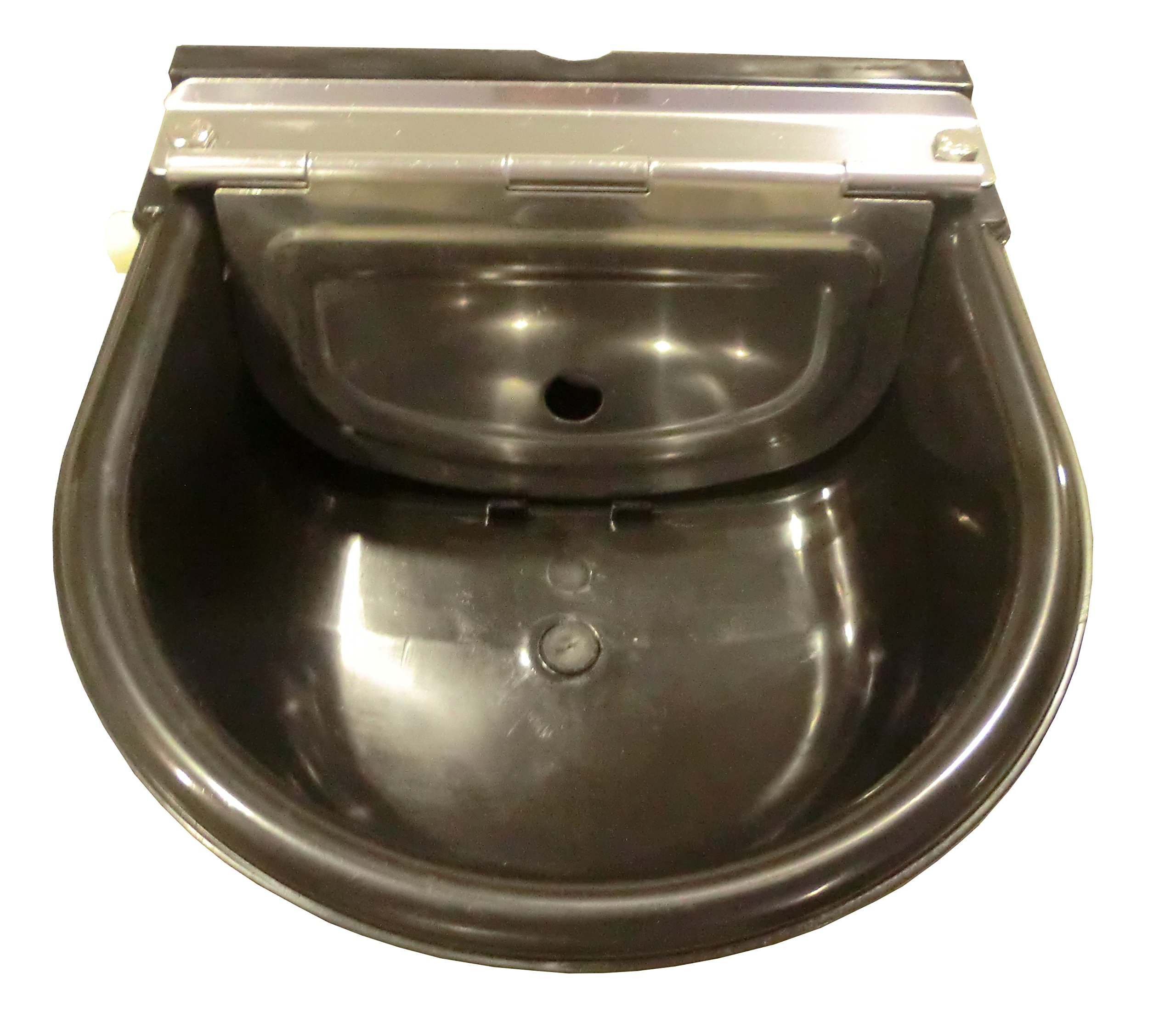 Large Black Automatic Stock Waterer By Rabbitnipples.com by rabbitnipples.com