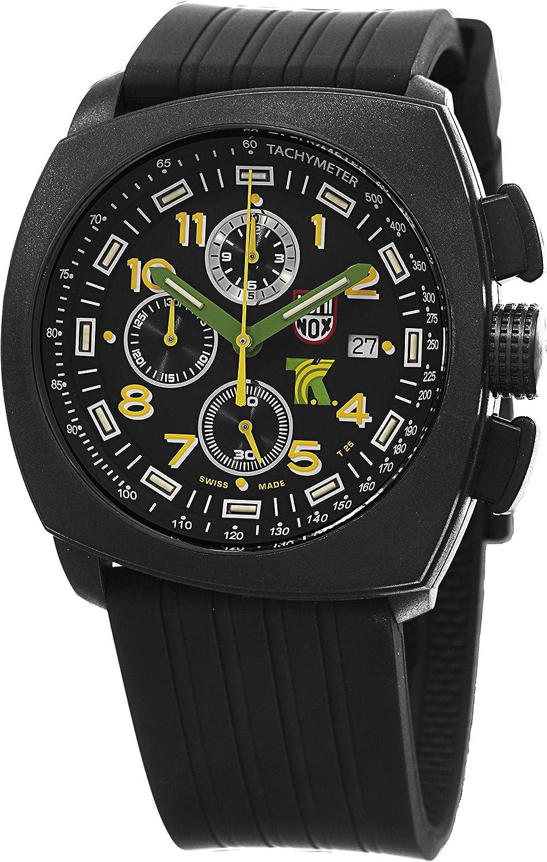 Luminox Men s A.1101 SXC Black Stainless Steel Watch