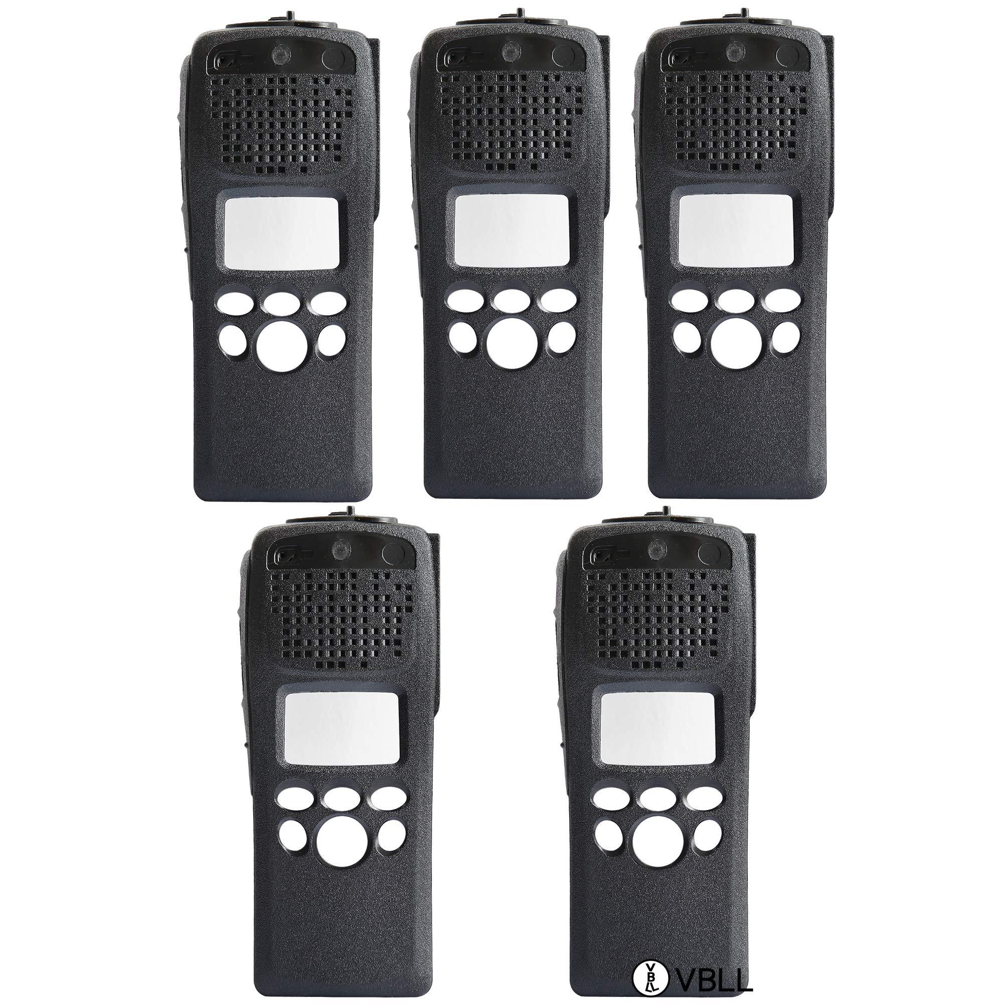 BLVL 5X PMLN4792 Black Replacement Repair Case Housing for Motorola Astro XTS2500 Model 2 Radio