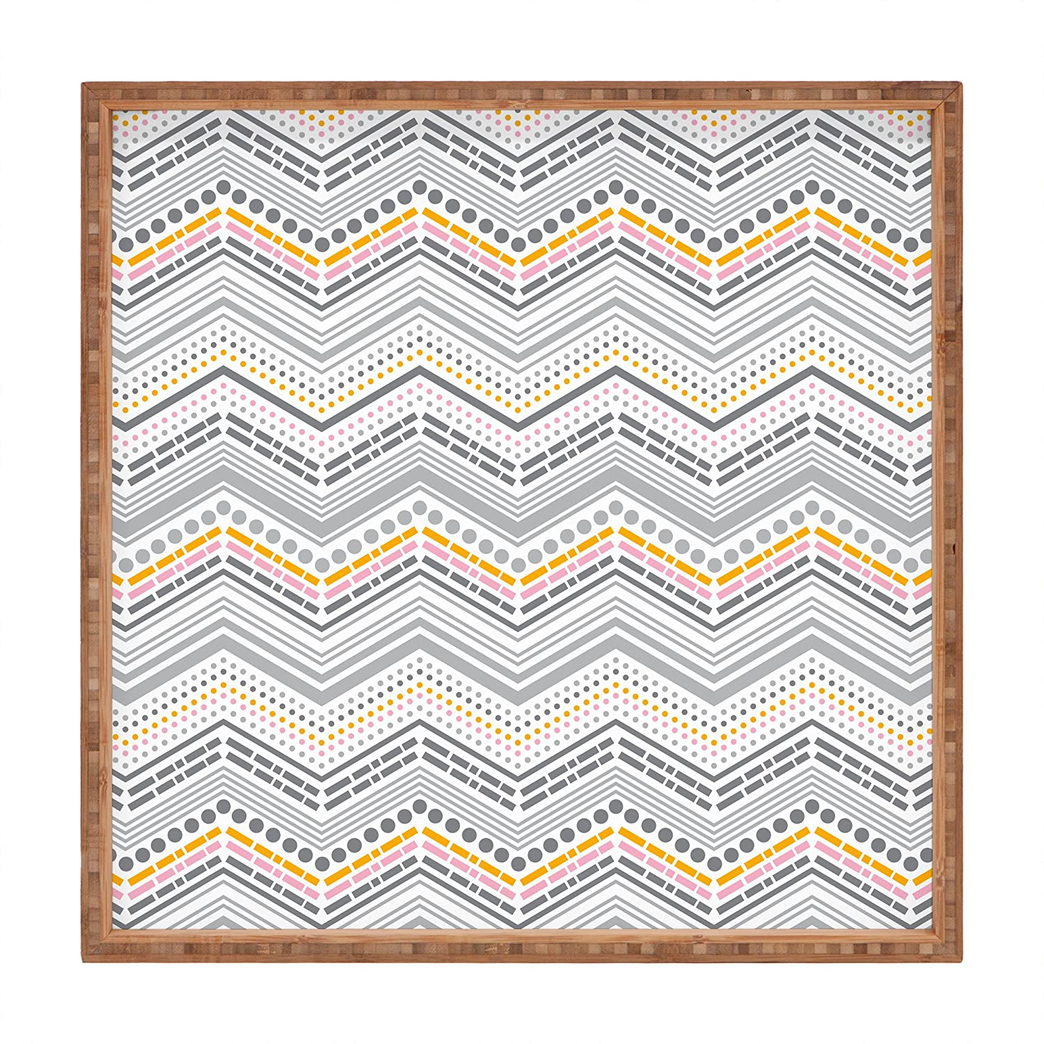 Deny Designs Heather Dutton Bestrewn Lagoon Indoor/Outdoor Square Tray, 12' x 12' 12 x 12 16849-tsqumd