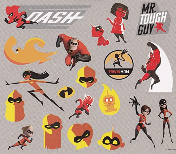 Violet Incredibles 2 Temporary Tattoo