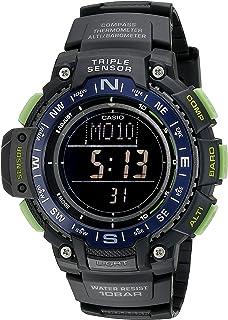 5ff5ce421e3 Casio Men s SGW-1000-2BCF Triple Sensor Digital Display Quartz Black Watch
