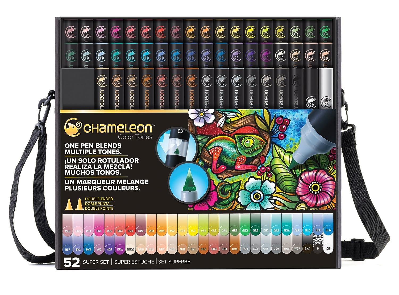 Chameleon Pens 52 Pen Super Set With Bonus Case, Nibs and Tweezer by Chameleon Pens B01B14Z8QO