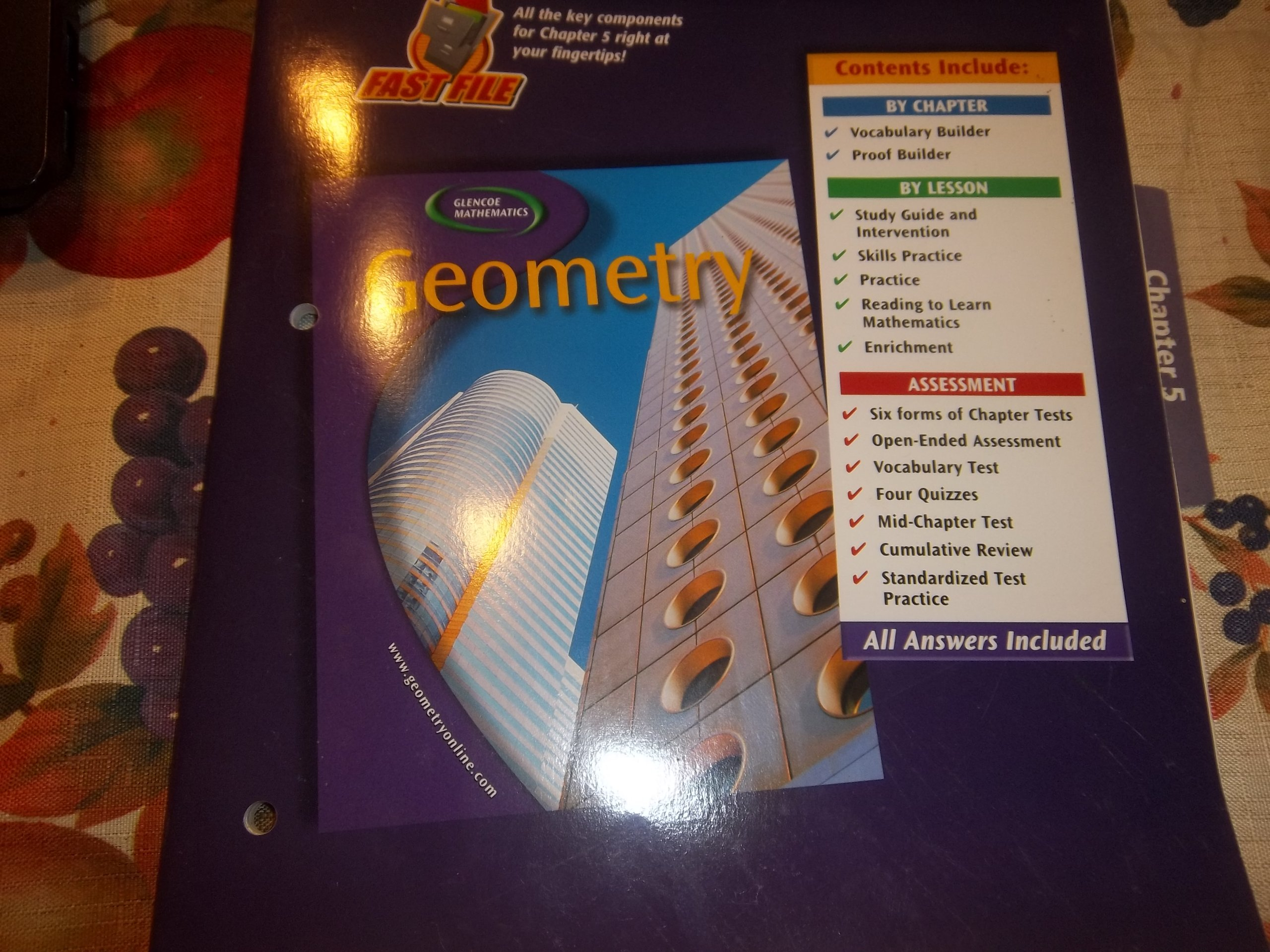 Geometry, Chapter 1 Resource Master: McGraw-Hill