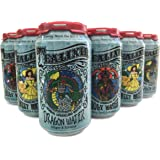 TEALIXIR HERBAL SPARKLING WATER - Variety Pack - Inspired By The Traditions Of Ayurveda, Traditional Chinese Medicine And North American Folk Medicine ~ 12 PACK (Variety)