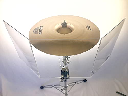 ymbal Shield/Drum Shield - Decreasing Cymbal Volume Up Tp 40%