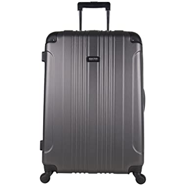 Kenneth Cole Reaction Out Of Bounds 28  Hardside 4-Wheel Spinner Lightweight Checked Luggage, Charcoal