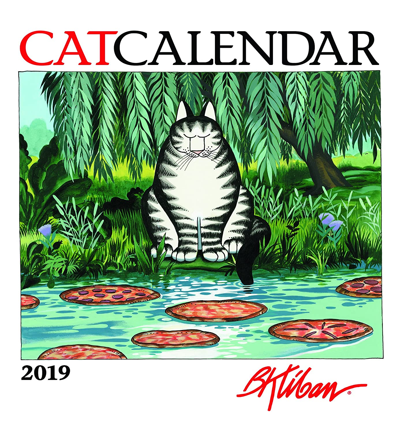 B. Kliban - Catcalendar 2019 Calendar Pomegranate 0764979965 Entertainment / Humor Calendars