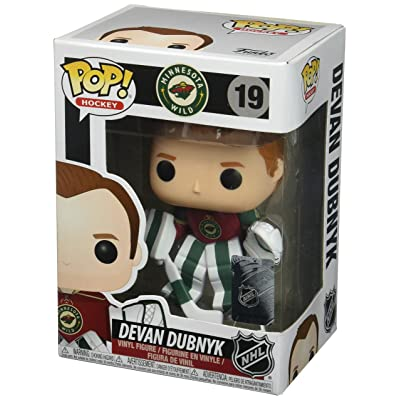 Funko POP NHL: Devan Dubnyk Home Jersey Collectible Vinyl Figure: Funko Pop! Nhl S2:: Toys & Games