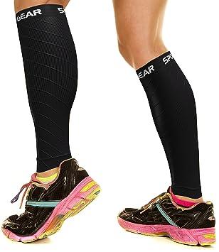 bb0df394db Physix Gear Sport Compression Calf Sleeves for Men & Women (20-30mmhg) -  Best Footless Compression Socks for Shin Splints, Running, Leg Pain, ...