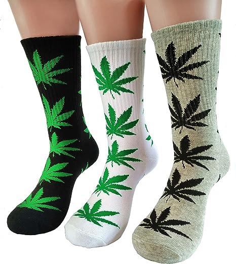 High Quality Women Mens Cotton Socks Marijuana leaf Casual Long Weed Maple Sock
