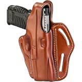 1791 GUNLEATHER XDS Thumb Break Holster - Right Handed OWB Leather Gun Holster - Fits Glock 17, 19, 22, 23, 32 Sig Sauer…