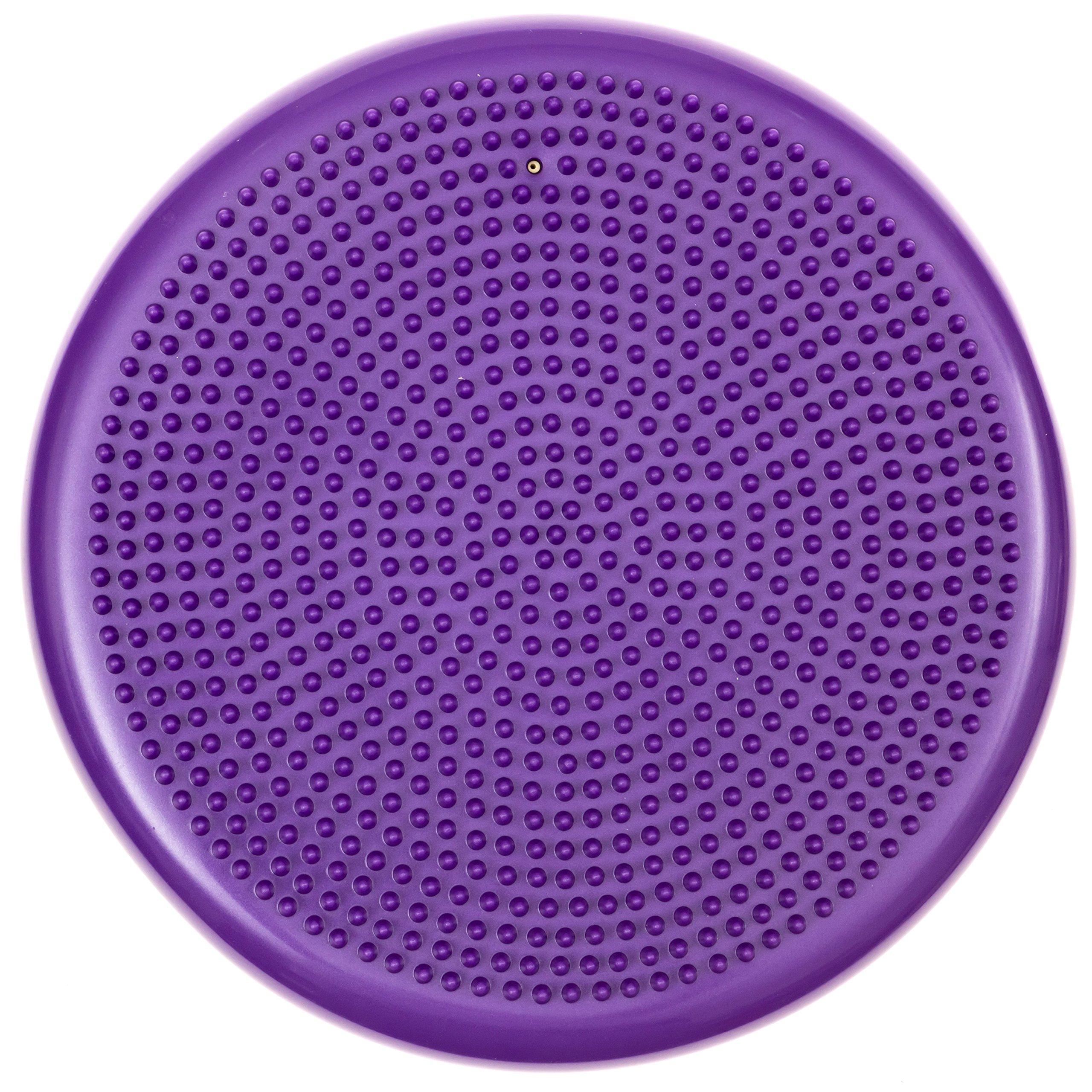 bintiva round balance disc purple 33cm by bintiva (Image #1)