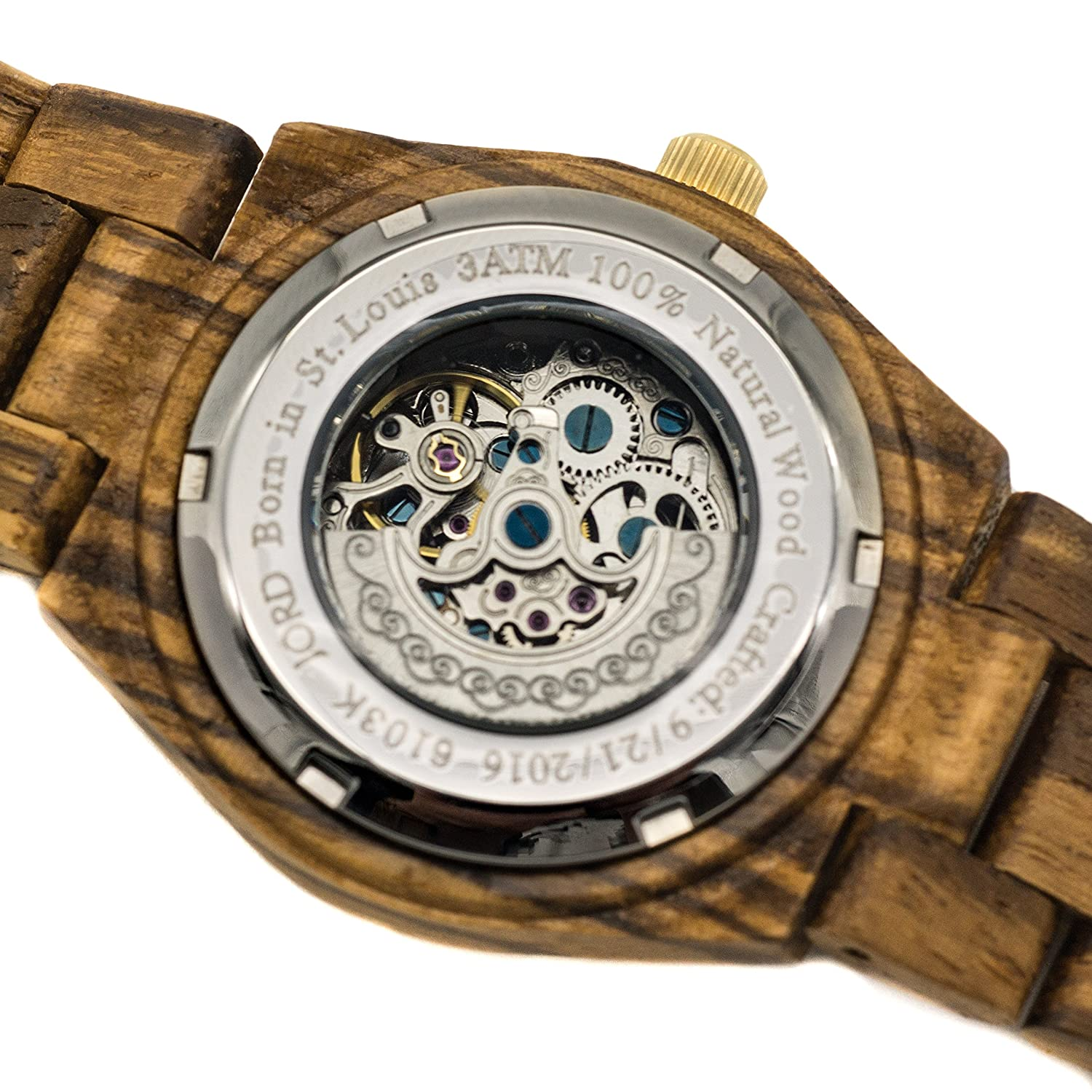 olive watch ebony products hut all wooden zebrawood true tree ash treehut wood watches