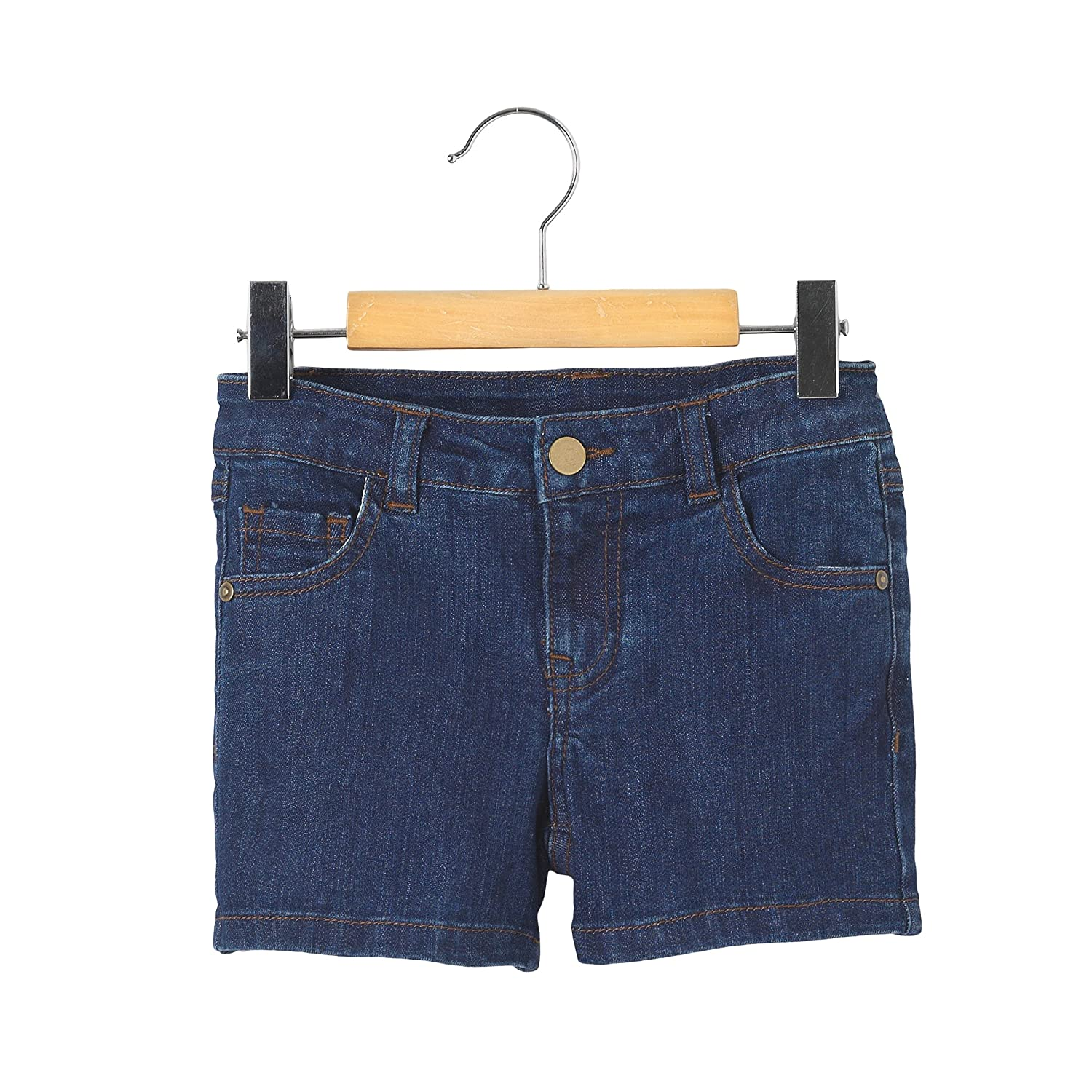 La Redoute Collections Big Girls Denim 5 Pocket Shorts 3-12 Years