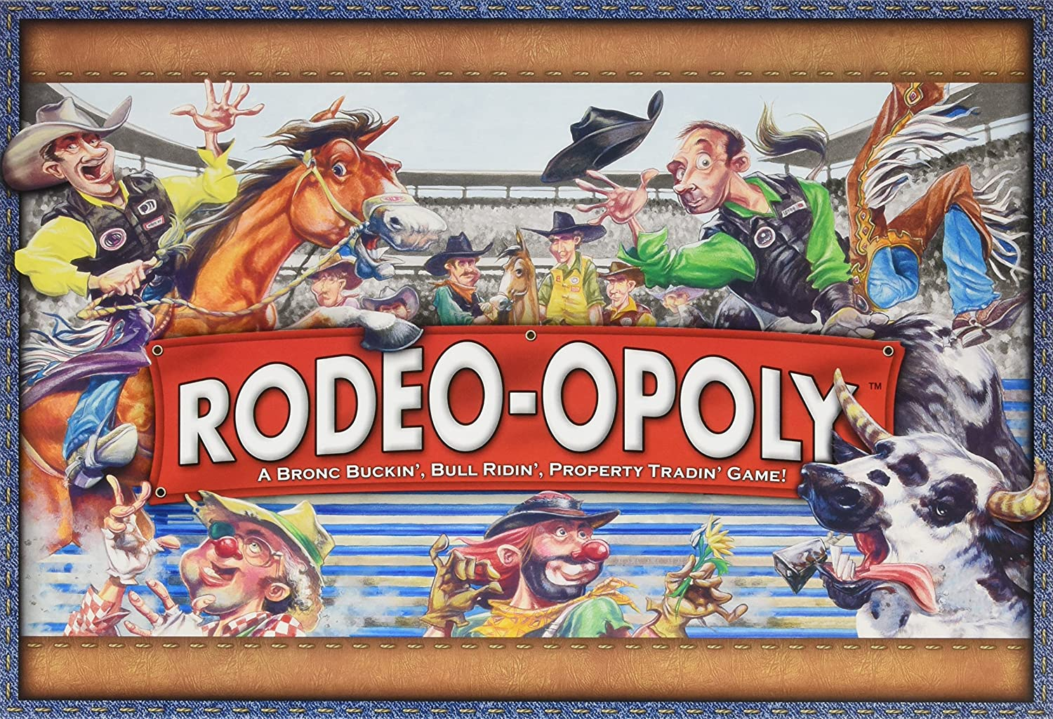 Amazon Rodeo Opoly Monopoly Board Game By Late For The Sky