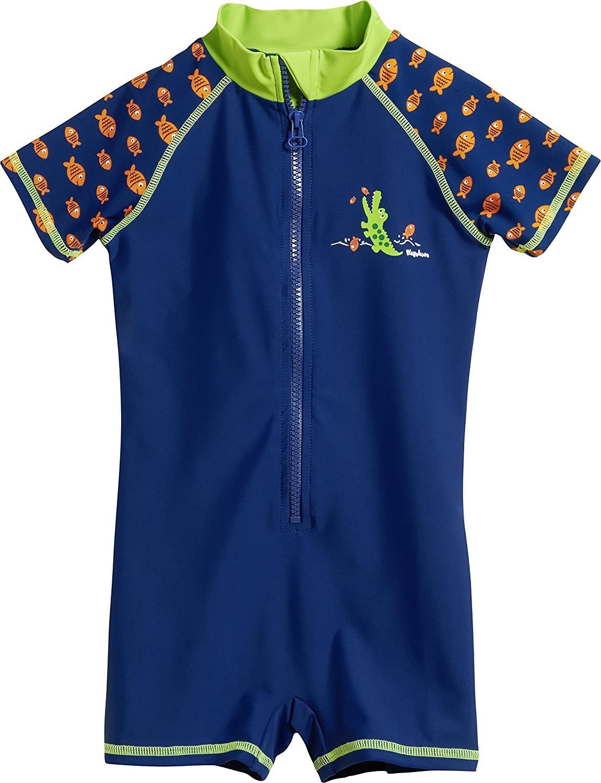 Playshoes Boys Uv-Schutz Einteiler Krokodil Swimsuit