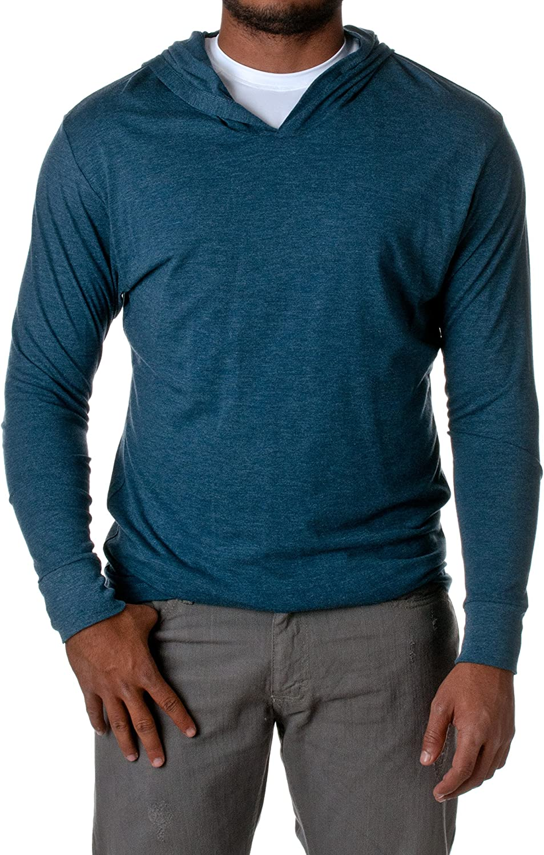 Mens Clothing Sweaters Workout Sweatshirt Pocket Tri-Blend