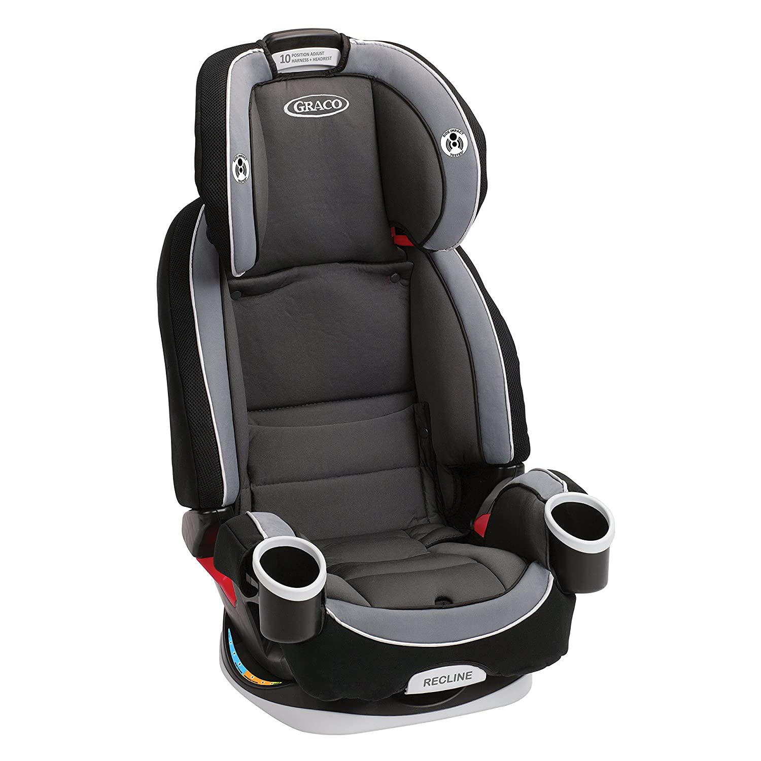 Amazon Graco 4Ever Extend2Fit All In One Convertible Car Seat Clove Baby