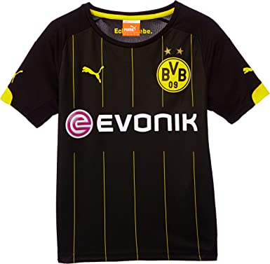 Puma BVB - Camiseta de fútbol para niño (del Equipo Borussia ...