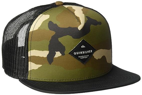 3175fd73f64 inexpensive quiksilver camo trucker hat 2c7ae f019a