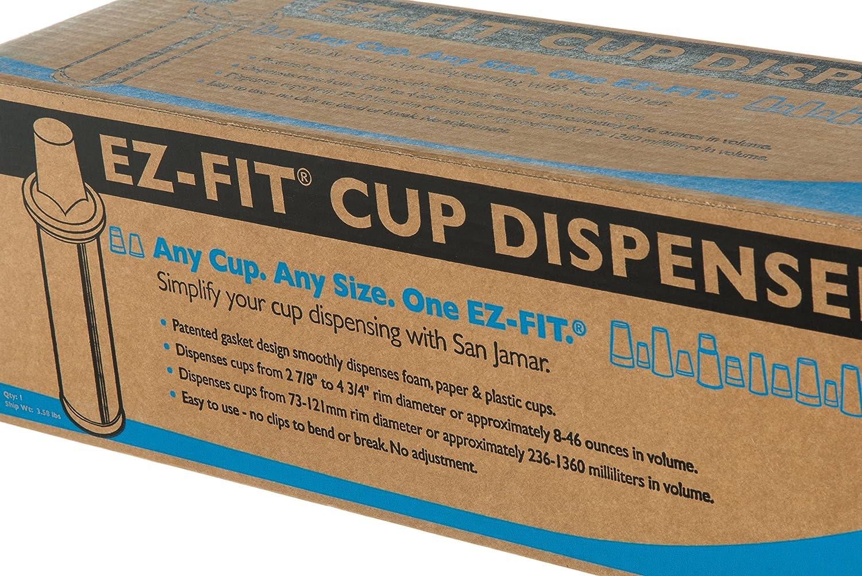 Amazon.com: San Jamar C2410C18 18-Inch Euro EZ-Fit Cup Dispenser: Industrial & Scientific