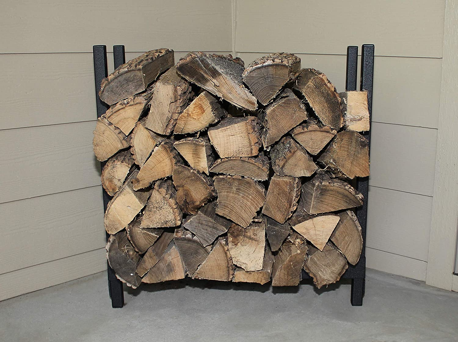 Woodhaven The 2 Foot Fireside Firewood Rack
