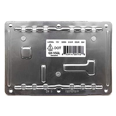 Replacement LAD5GL 4-pin Xenon Ballast HID Headlight Headlamp Control Unit: Automotive