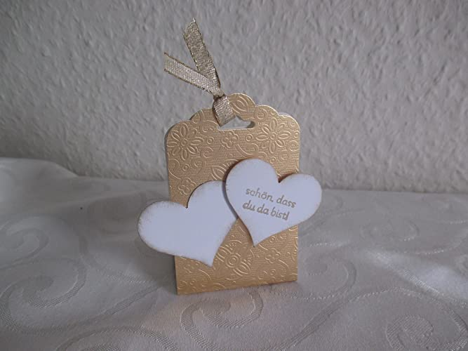 Gastgeschenk Willkommensgruß Goldene Hochzeit Amazonde