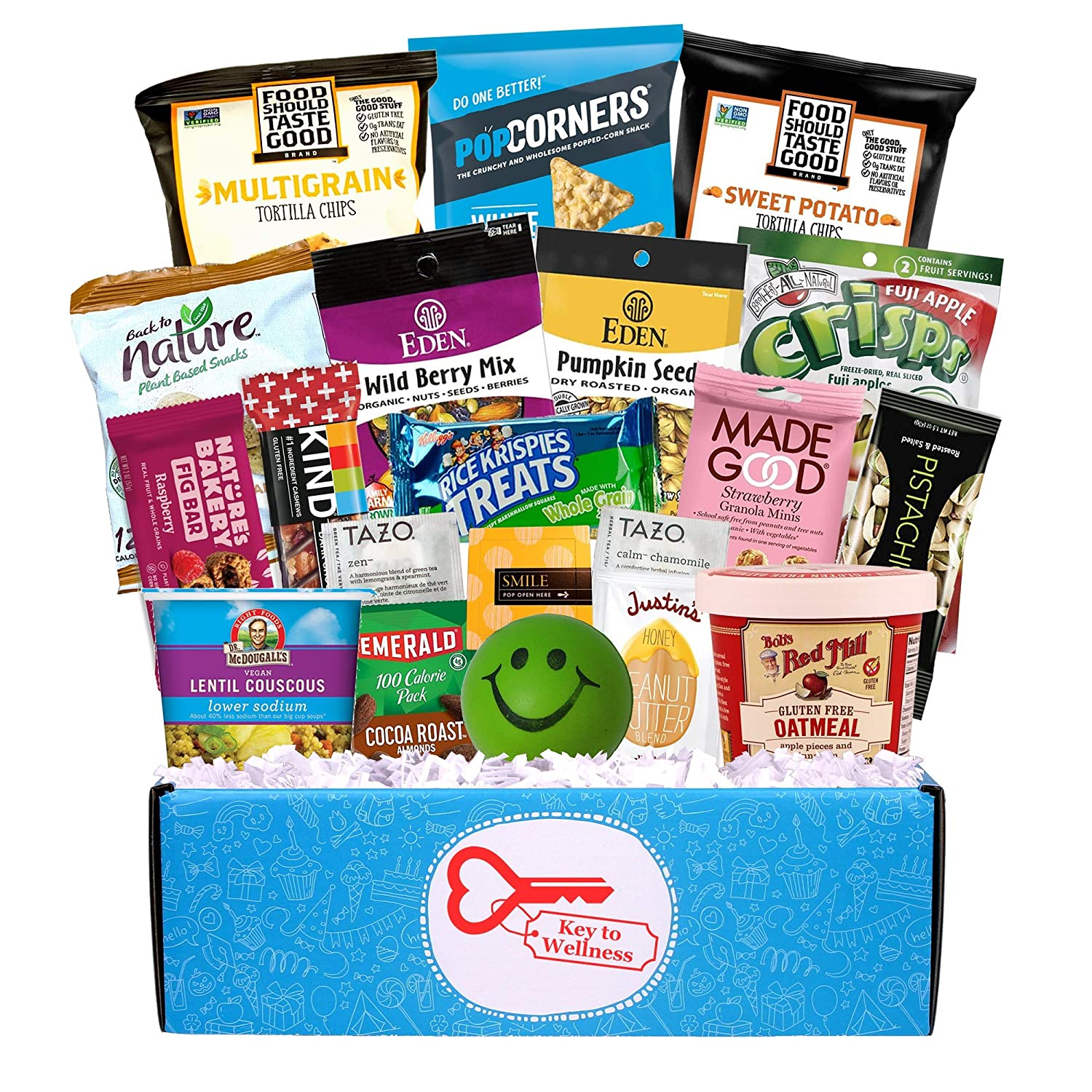 Key to Wellness Healthy College Care Package