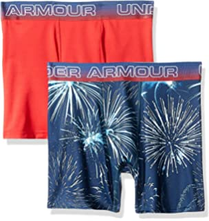fa3ae19ea0 Amazon.com : Under Armour UA Original Series Fireworks Boxerjock 2 ...