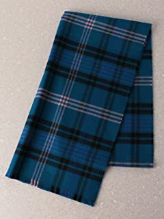 Ross Hunting Merino Scarf 3136-343-0370: Dark Green