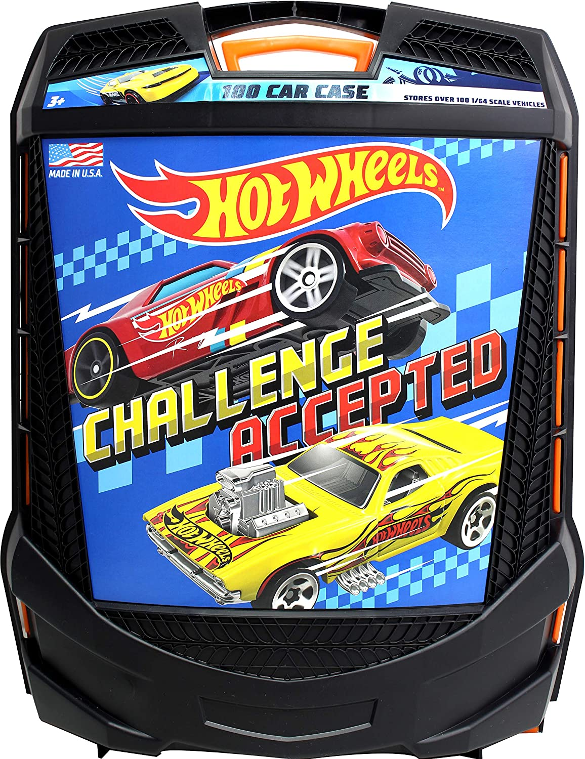 Hot Wheels 100 Car Case by Tara Toys: Amazon.es: Juguetes y juegos