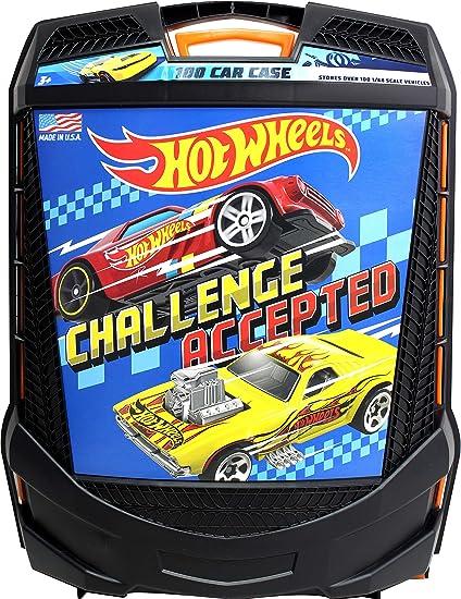Hot Wheels 100 Car Case by Tara Toys: Amazon.es: Juguetes y juegos