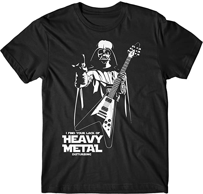 LaMAGLIERIA – Camiseta de hombre Heavy Metal Disturbing – Camiseta 100% algodón Negro XXL: Amazon.es: Ropa y accesorios