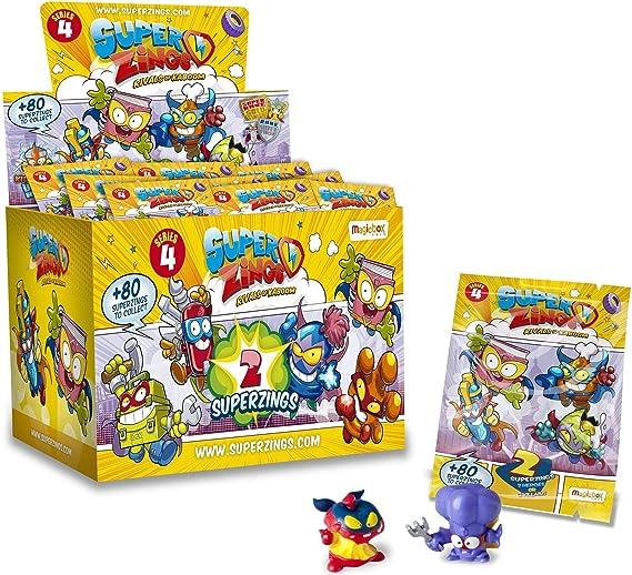 Superzings PSZ4D830IN00 - Juego de 4 lápices: Amazon.es: Juguetes y juegos